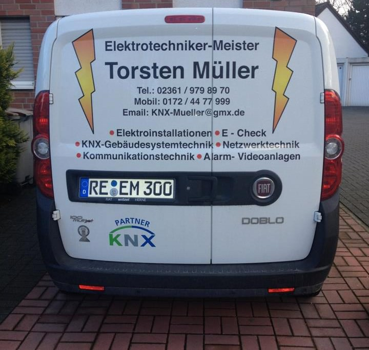 Elektrotechnik Torsten Müller Dienstwagen