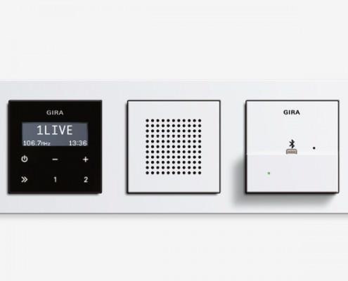 Installation kabelloser Musikübertragung via Bluetooth